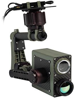 Целевая нагрузка R.A.L. GB-2T с HD-видеокамерой и тепловизором